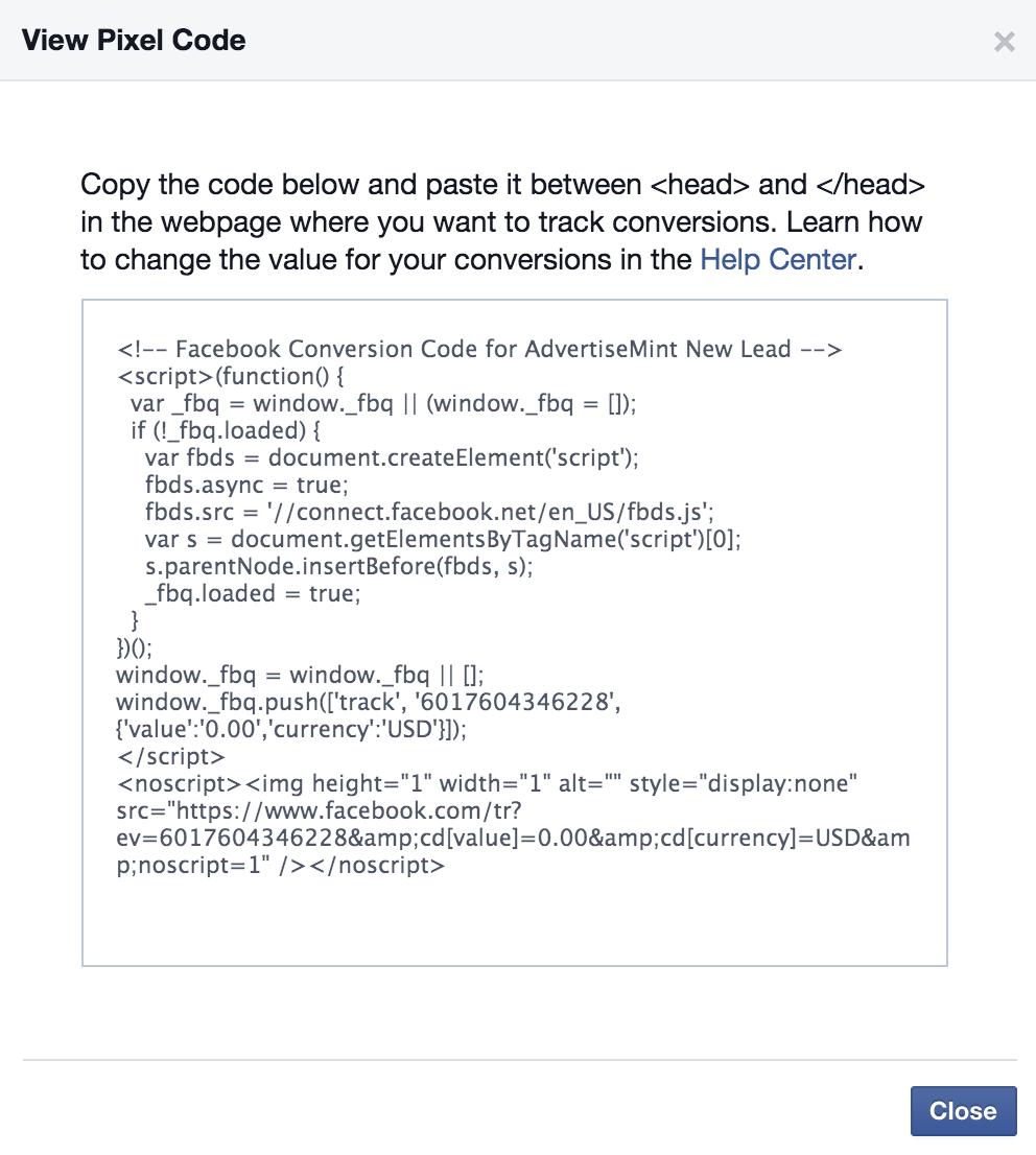 facebook-conversion-pixel-wordpress-pixel