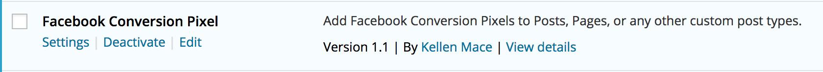 facebook-conversion-pixel-wordpress-plugin-settings