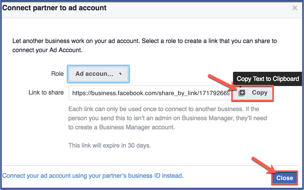 how to delete facebook business account