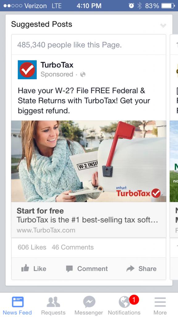 Turbo_Tax_SuperBowl_Facebook_Ad