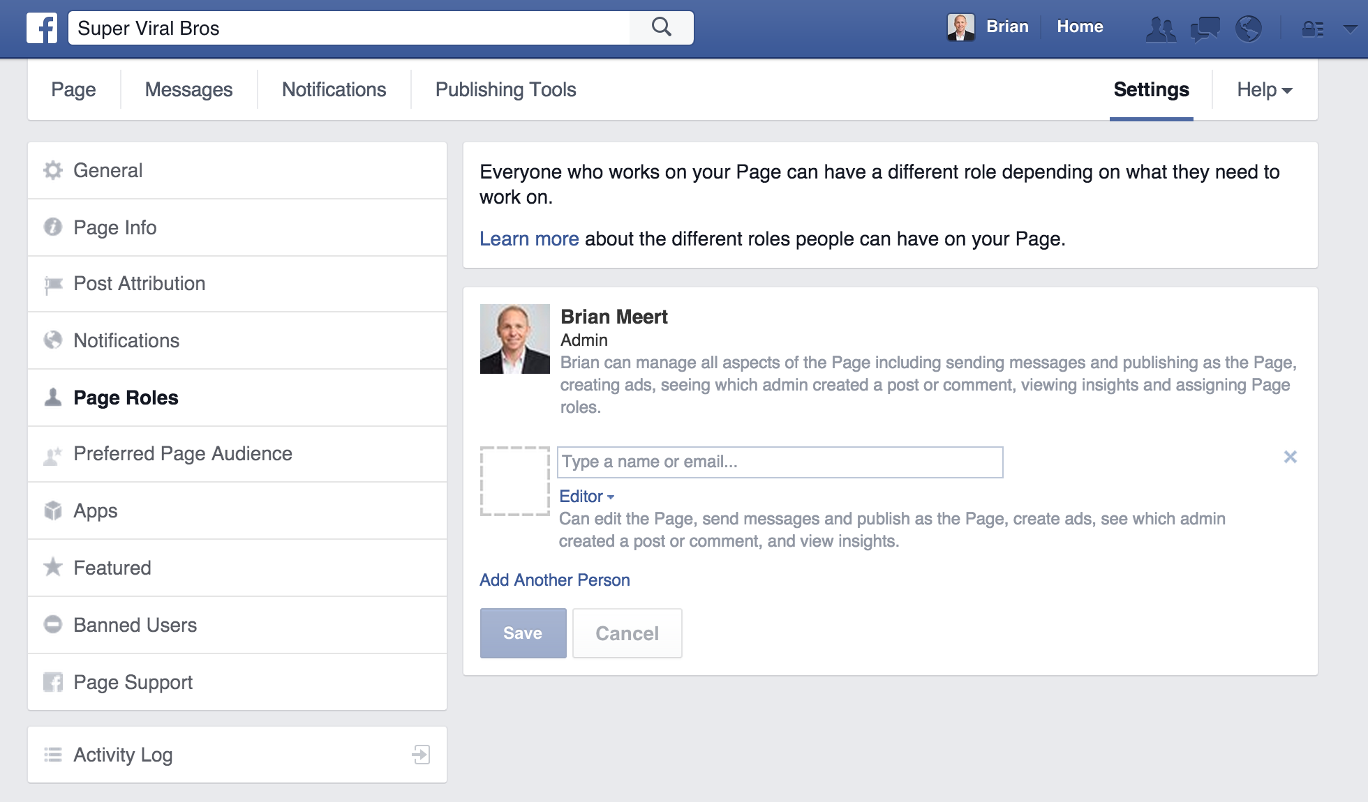 How-To: Assign agency access to your Facebook fan page