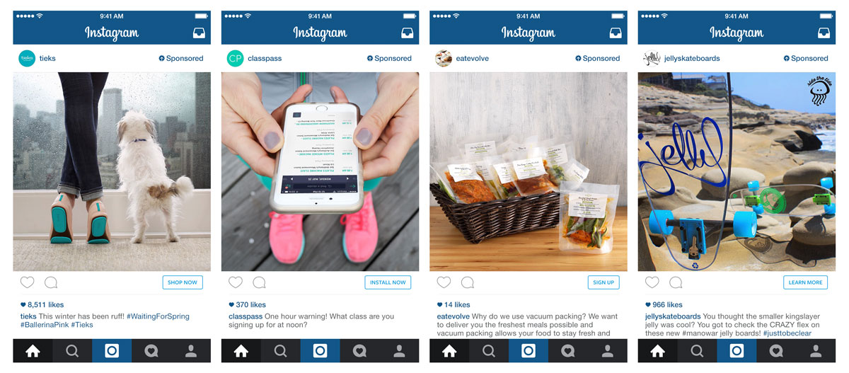 instagram advertising agency ad examples