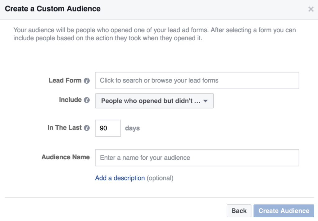 How to Create Remarketing Lists from Facebook Lead Ads | AdvertiseMint
