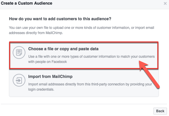 How To Build A Facebook Custom Audience Using Multiple Data Types3