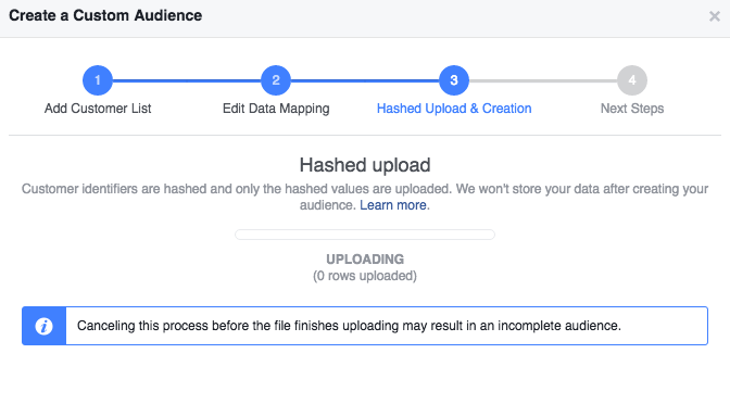 How To Build A Facebook Custom Audience Using Multiple Data Types7
