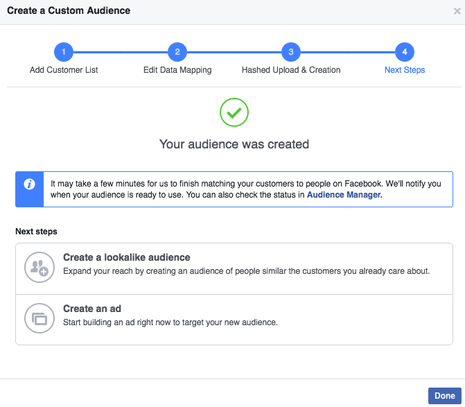 How To Build A Facebook Custom Audience Using Multiple Data Types8