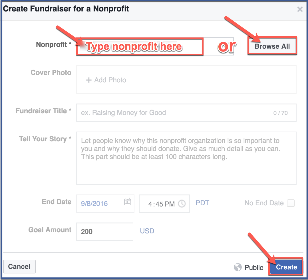 How-to-create-a-Facebook-fundraiser2