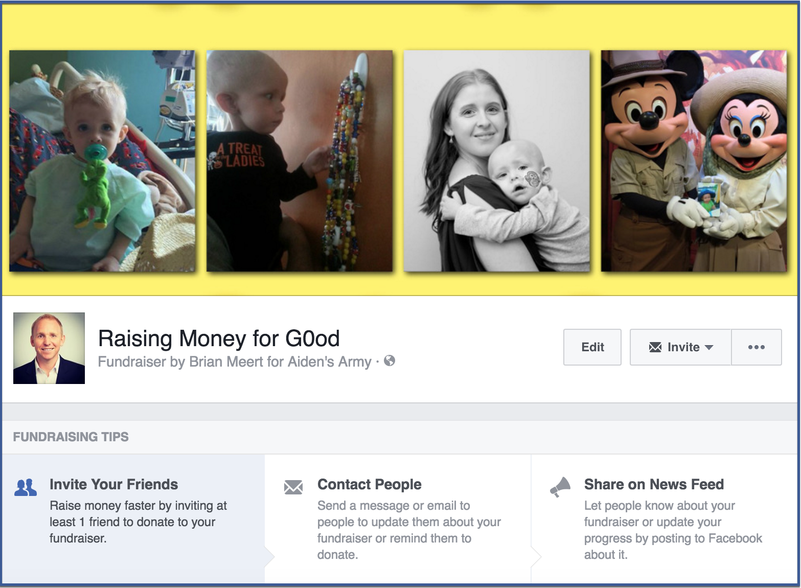 How to create a facebook fundraiser5