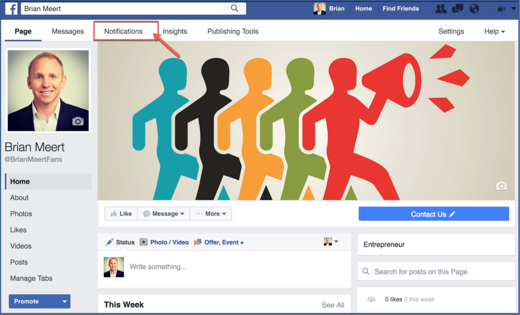 How to View Facebook Fan Notifications
