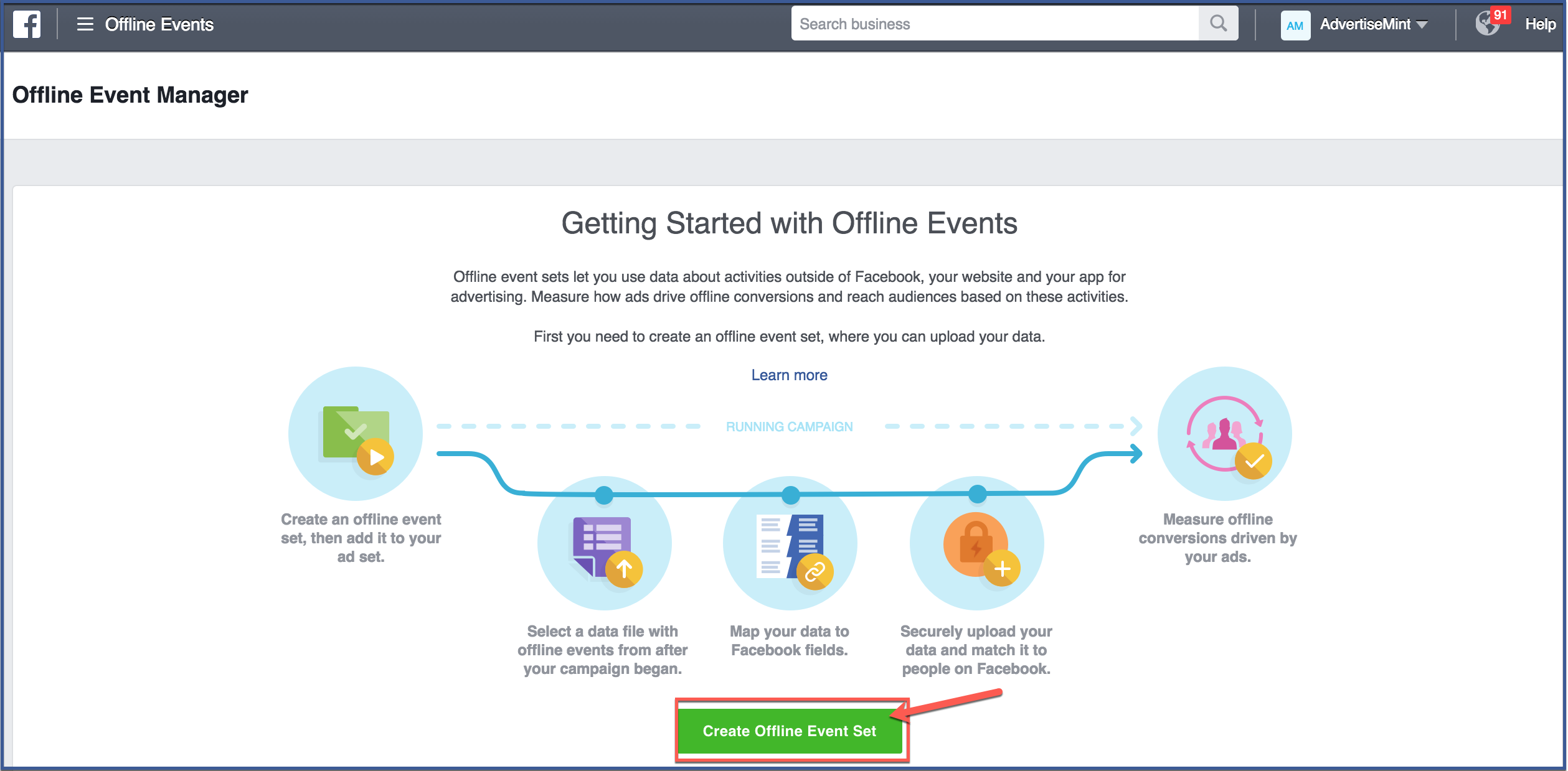 Marketing For Small Business How To Delete Your Facebook Page  Facebookofflineevents2