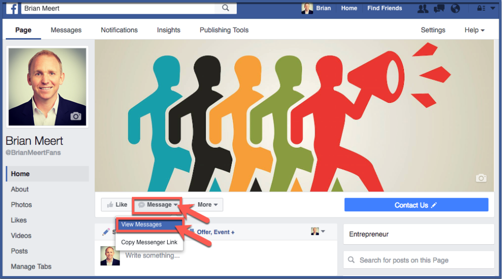 How to View Your Facebook Fan Page Messages