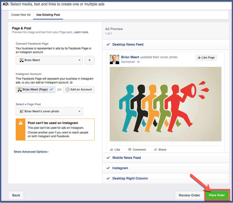 How to Create a Facebook Boosted Post