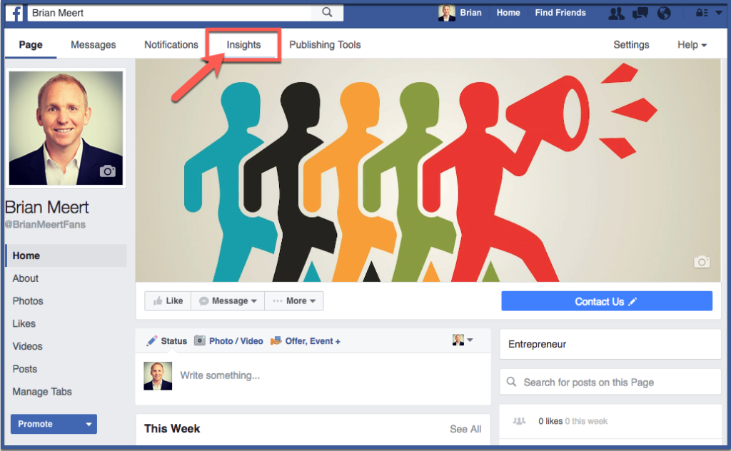 How to Find Your Facebook Fan Page Insights