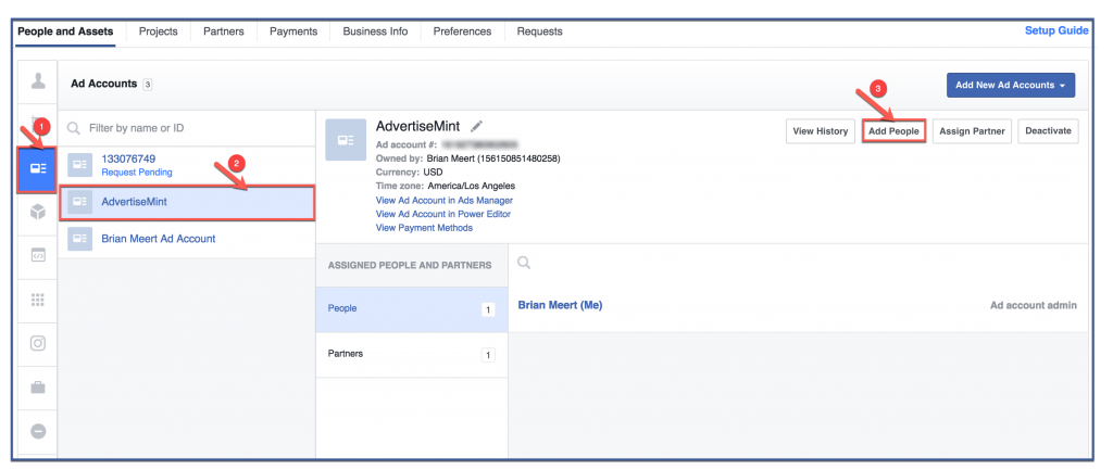 How to Set Permissions for Facebook Ad Accounts | AdvertiseMint