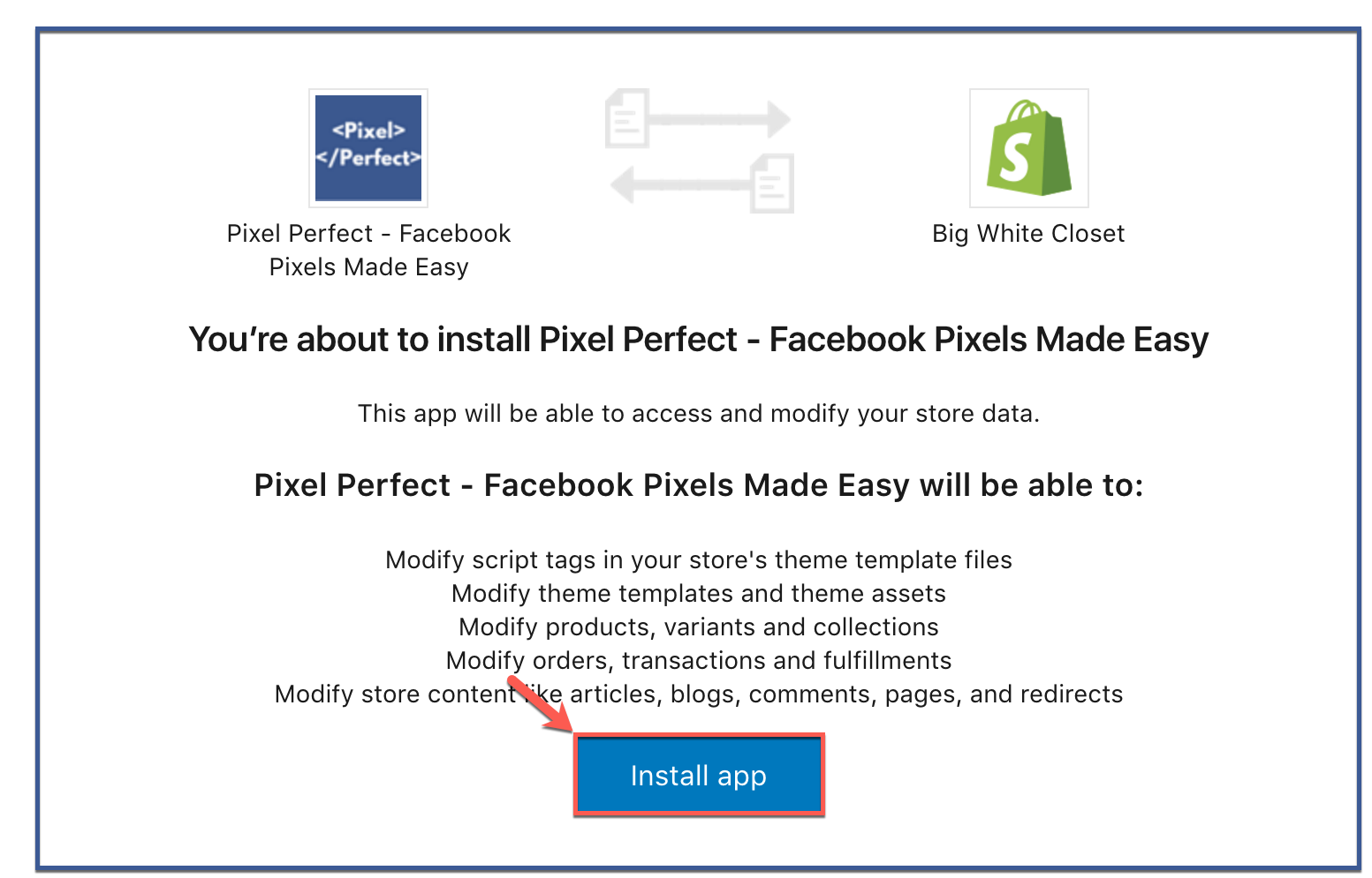 how-to-install-pixel-perfect-to-shopify5