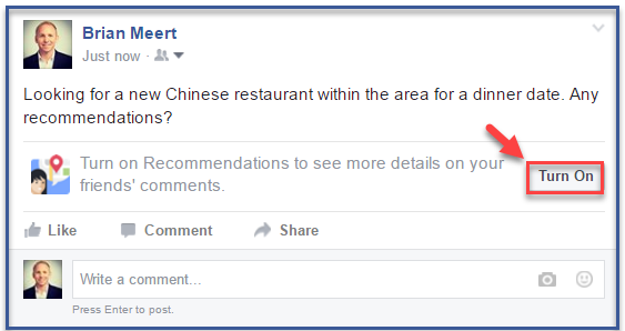 Facebook's Recommendation Feature Leads Customers Directly
