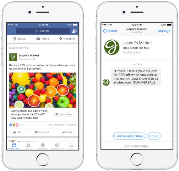 new-facebook-ads-direct-customers-to-messenger2