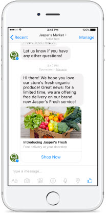 Remarket to Customers with Facebook's Sponsored Messages
