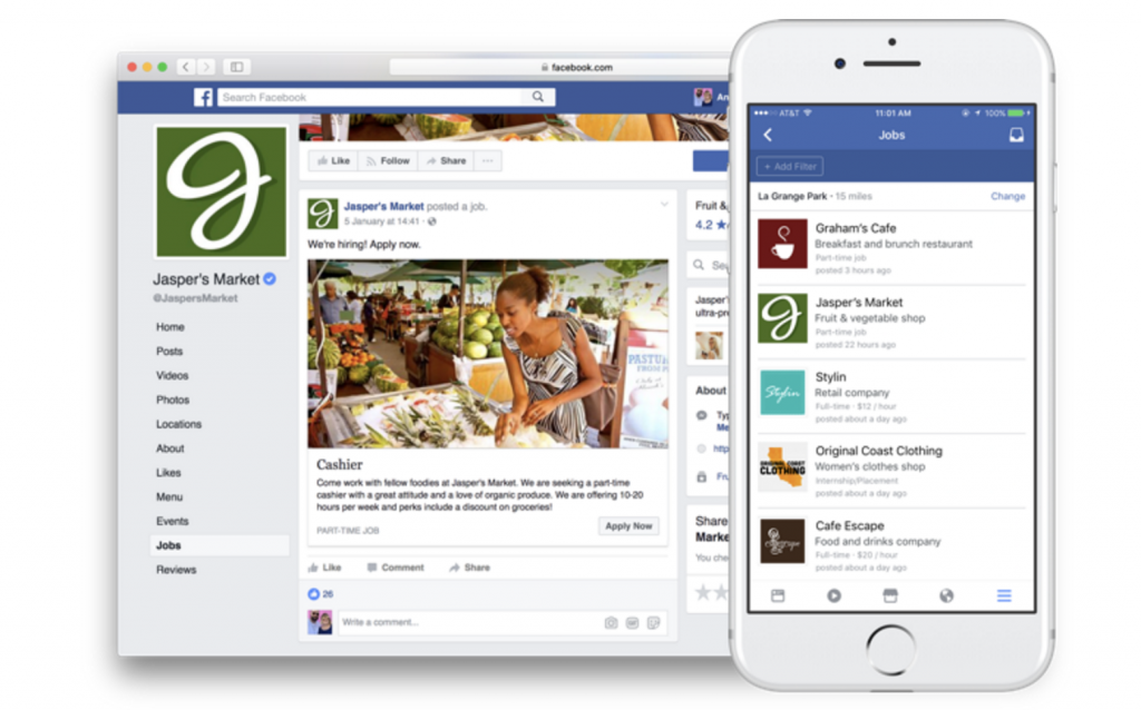 Facebook's Jobs Bookmark Expands B2B Targeting Options
