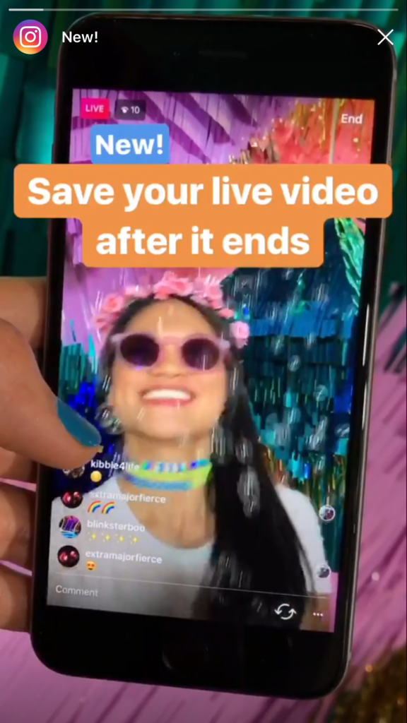 How to save instagram live videos advertisemint instagram announced that instagram live videos which were previously as ephemeral as instagram stories can now be saved and downloaded to your phone ccuart Images