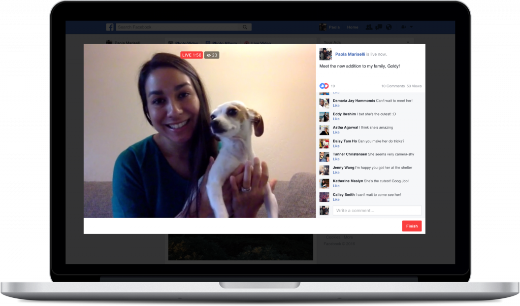 New Facebook Live Feature: Go Live from Your Computer with Streaming Software