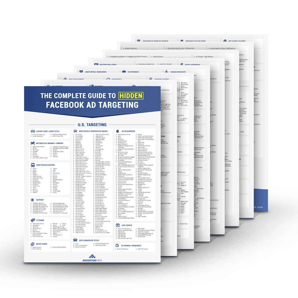 The Complete Guide to Hidden Facebook Ad Targeting