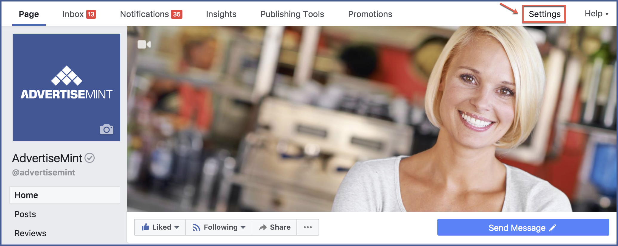 how to allow visitor posts on facebook page
