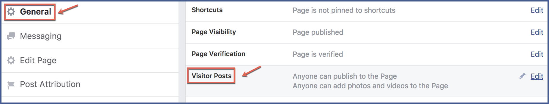 how to make a visitor post on facebook