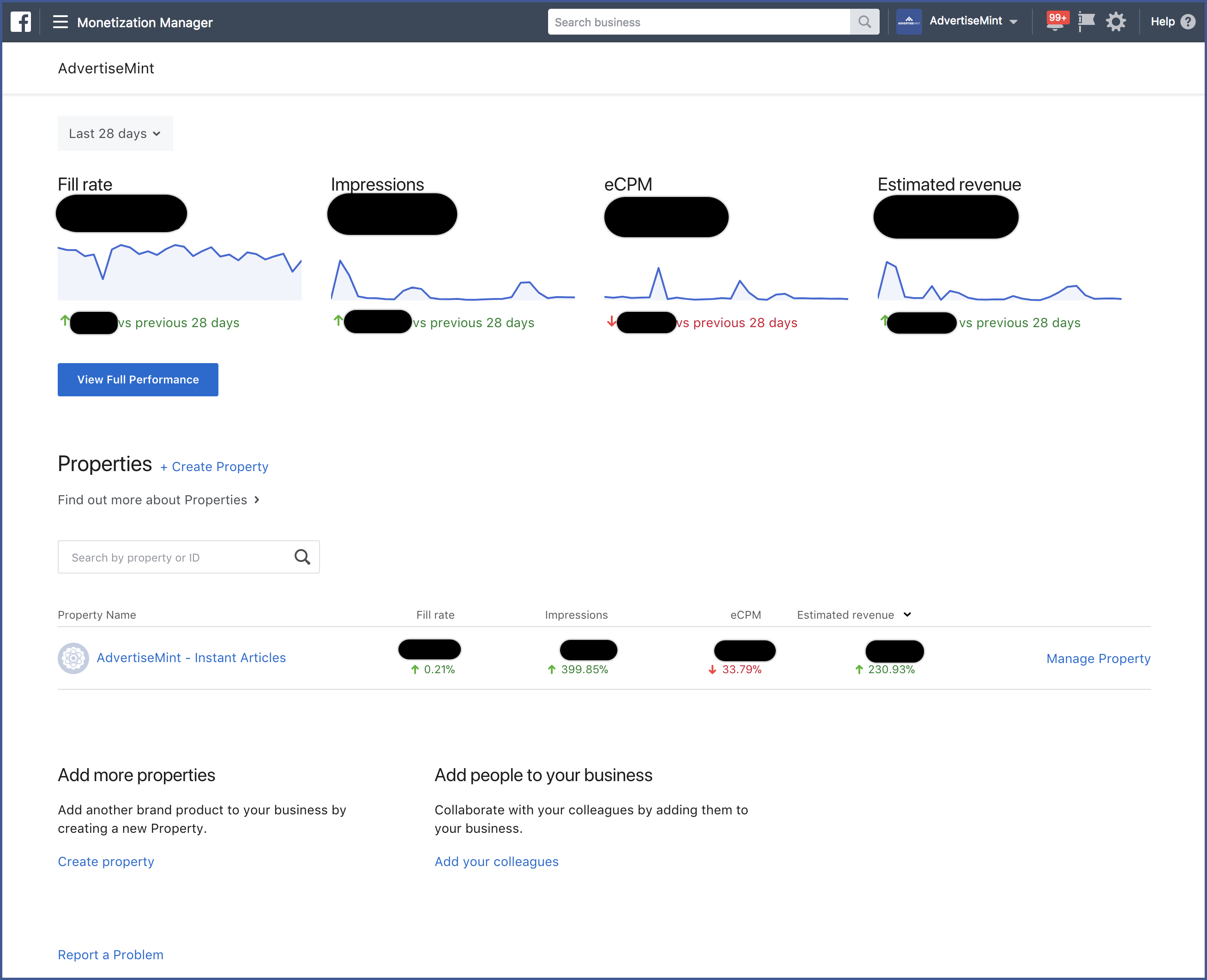 how to create business manager facebook