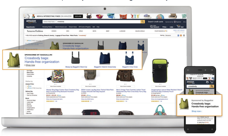 Amazon Expands Sponsored Products to External Sites
