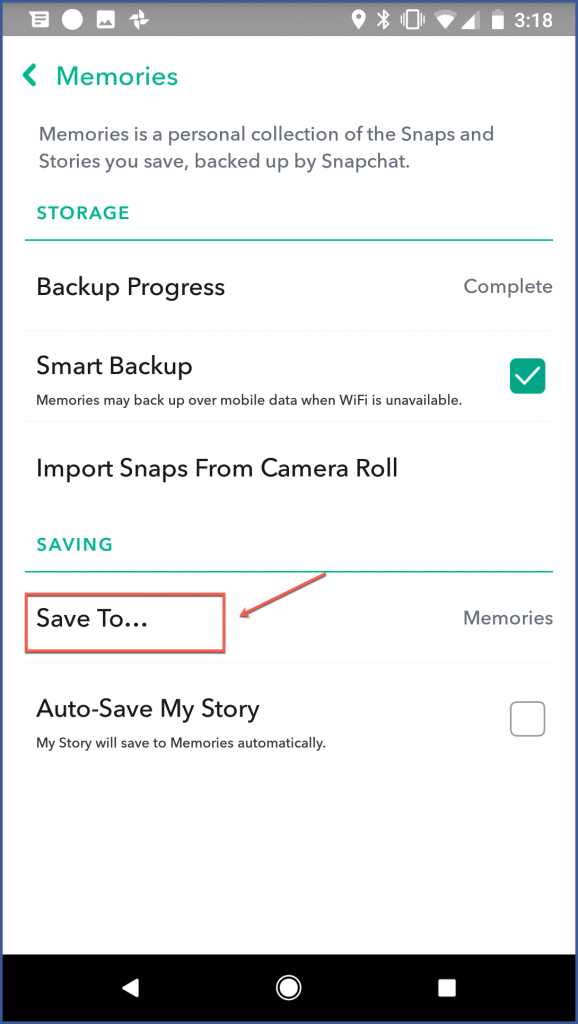 How to Save your Snapchat Memories and Contacts | Advertisemint