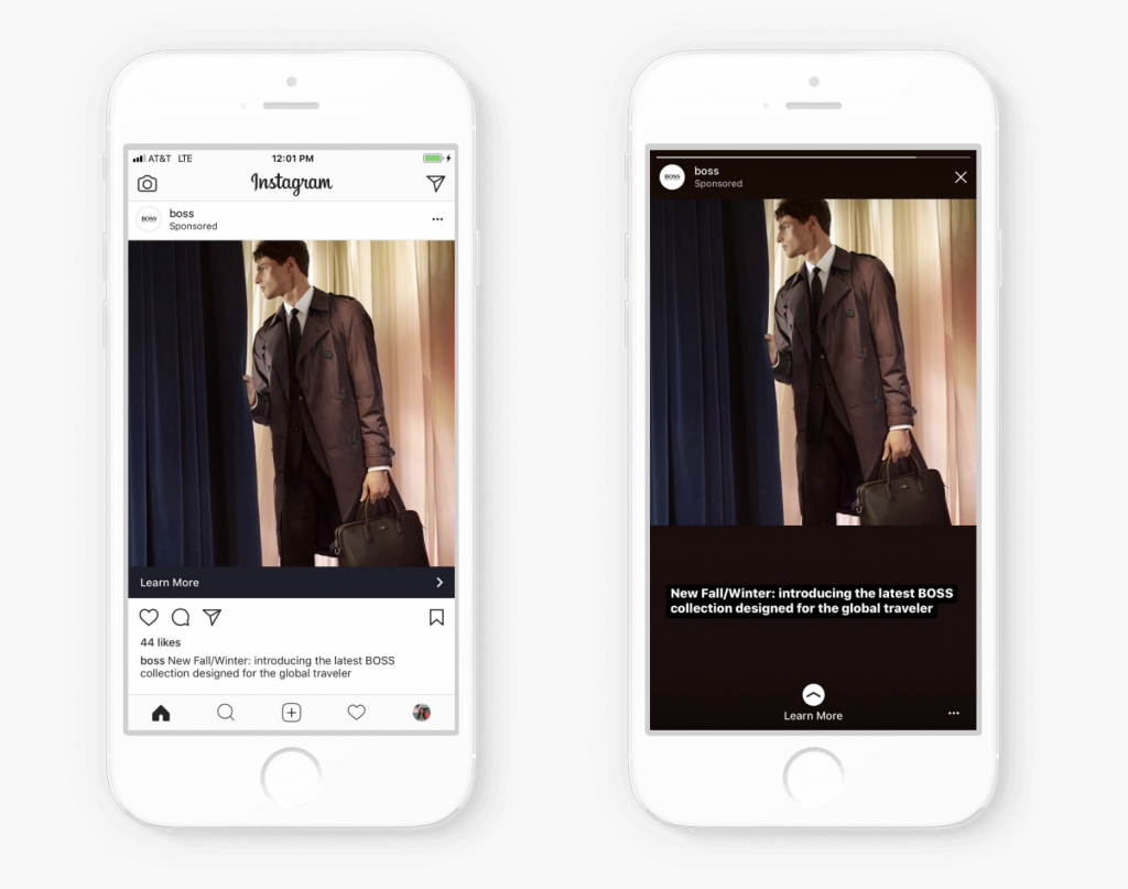 Advertisers Now Have Full Screen Support for All Instagram Story Ads