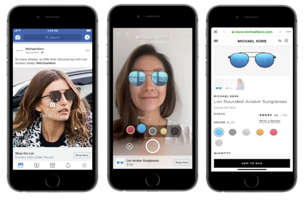 Brands Are Now Testing AR Ads in Facebook News Feed