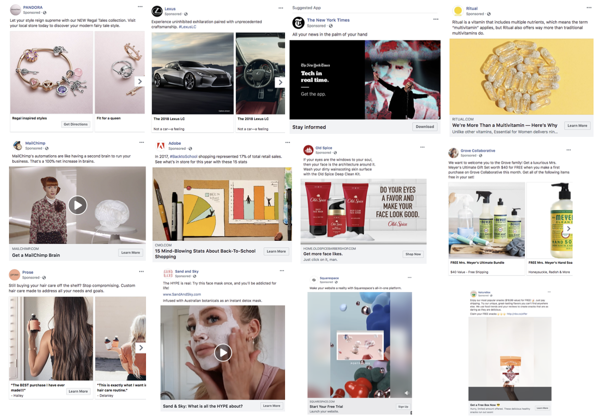 Why is Your Facebook Ads Not Delivering: wrong type of content