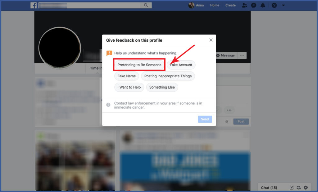Impersonating You on Facebook | Facebook Ads Company | Advertisemint