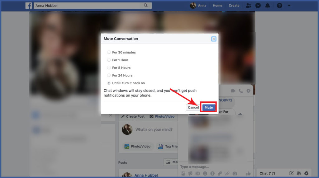 How to Mute Messenger Conversations Desktop and Mobile