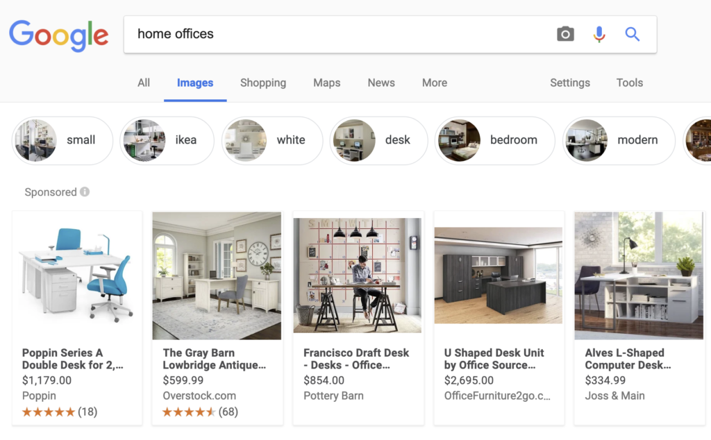 Google Tests New Feature, Shoppable Ads on Google Images