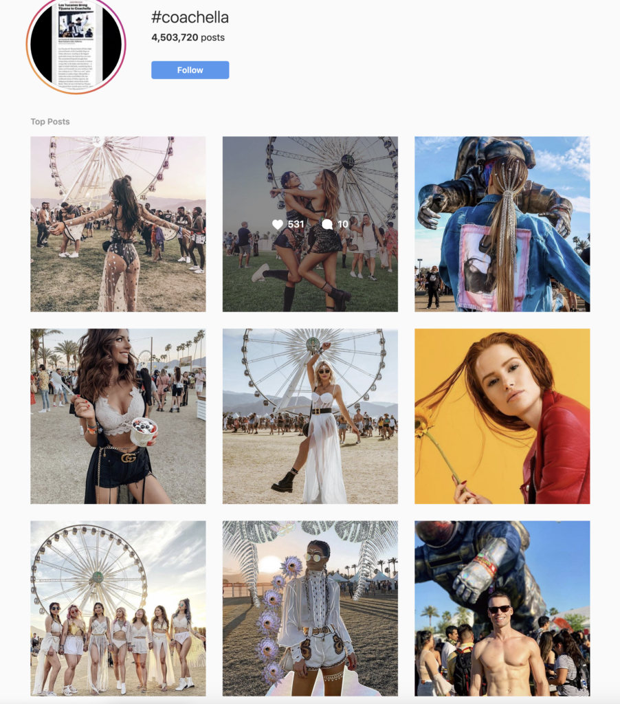 Coachella Content Ideas For Instagram Pinterest And Youtube