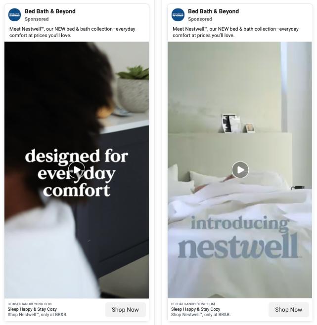 bed-bath-beyond-ab-testing-facebook-ads